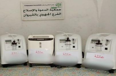جمعية بالقيروان: سرقة 12 جهاز مكثّف أكسجين
