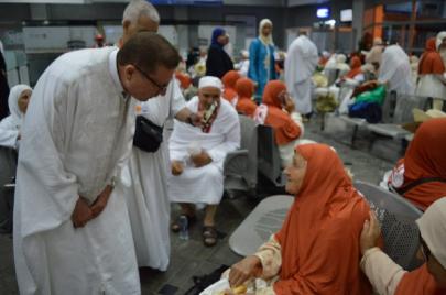 آخر استعدادات وزارة الشؤون الدينية لموسم الحج