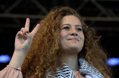 عهد التميمي: التونسيون شركاؤنا في النضال من أجل تحرير فلسطين