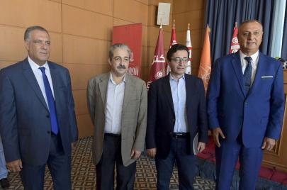 أحزاب تونسية تعلن تشكيل تنسيقية القوى الديمقراطية المعارضة لقرارات سعيّد