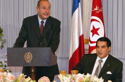 جاك شيراك وتونس.. تبييض لنظام بن علي وحبّ توزر وطرفة الجُعة!