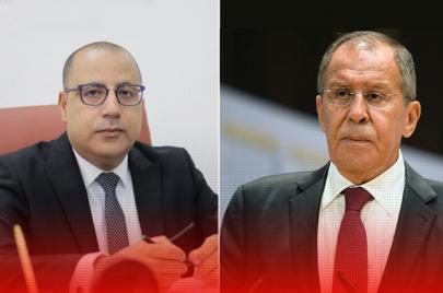 اتفاق بين المشيشي ولافروف على التسريع في تسليم لقاح سبوتنيك الروسي إلى تونس