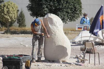 المهرجان الدولي لفنون النحت ضيف سيليوم القصرين